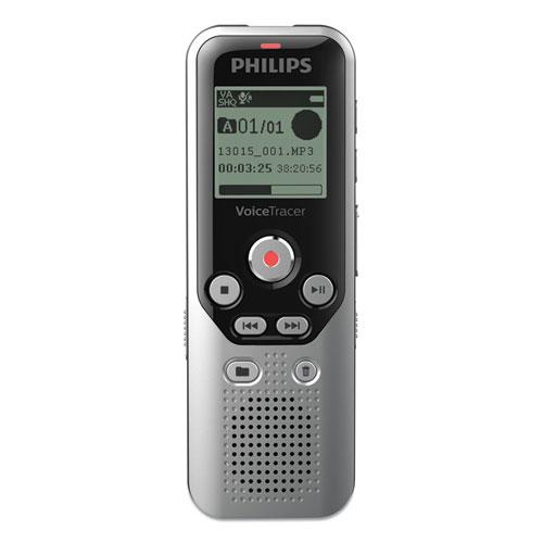 Digital Voice Tracer 1250 Recorder, 8 GB, Black/Silver