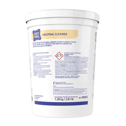 Neutral Cleaner, 0.5 oz Packet, 90/Tub