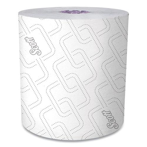 "Scott® Essential High Capacity Hard Roll Towel, White, 8"" x 950 ft, 6 Rolls/Carton"
