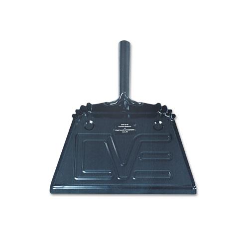 7290002248308, SKILCRAFT, Steel Dustpan, 12w x 13.5l x 4h, Black