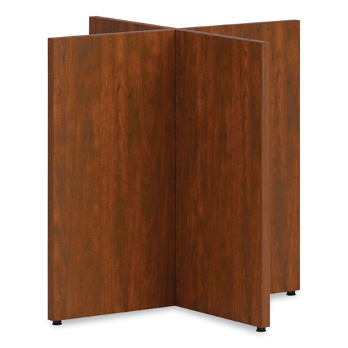 Mod X-Base for 48 Table Tops, Russet Cherry