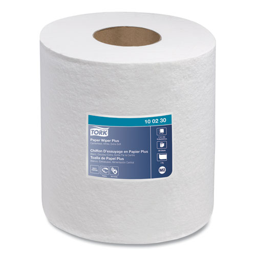 Tork® Centerfeed Paper Wiper, 1-Ply, 7.7 x 11.8, White, 305/Roll, 6/Carton