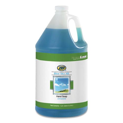 Blue Sky AB Antibacterial Foam Hand Soap, Clean Open Air, 1 gal Bottle, 4/Carton