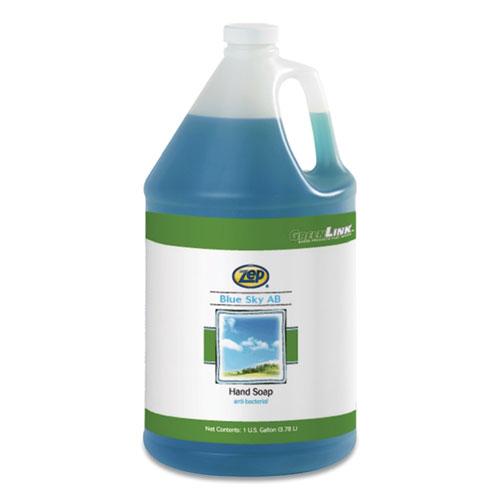 Blue Sky AB Antibacterial Foam Hand Soap, Clean Open Air, 1 gal Bottle