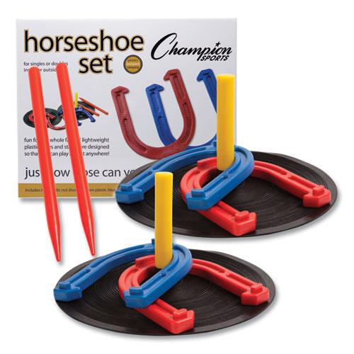 Indoor/Outdoor Rubber Horseshoe Set