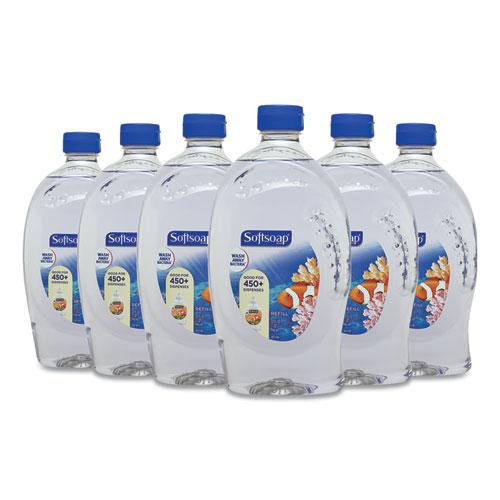 Liquid Hand Soap Refill, Fresh, 32 oz Bottle, 6/Carton