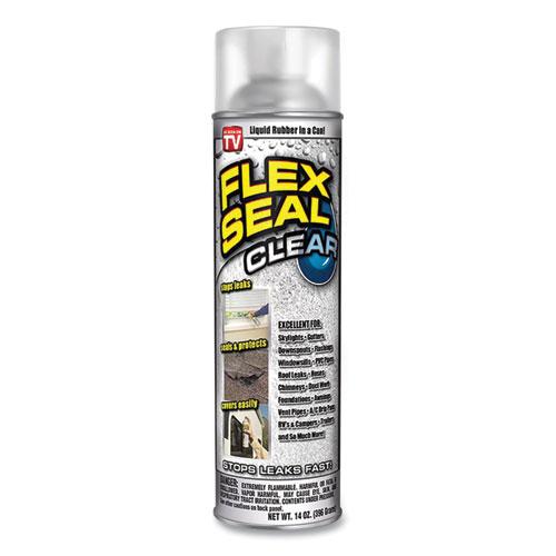 Liquid Rubber Sealant Coating Spray, 14 oz Spray Can, Clear