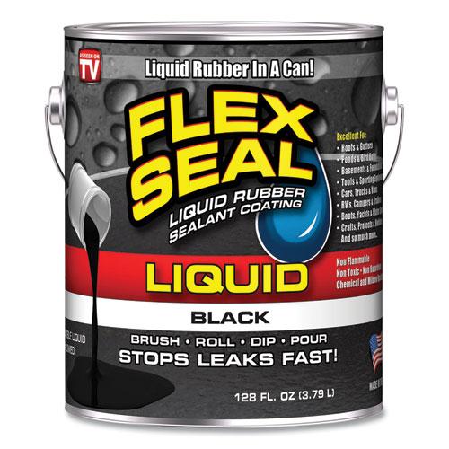 Liquid Rubber, 128 oz Can, Black
