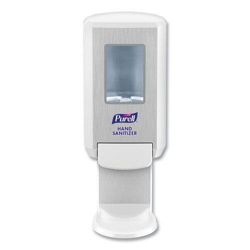 PURELL® CS4 Hand Sanitizer Dispenser, 1,200 mL, 6.12 x 4.48 x 10.81, White