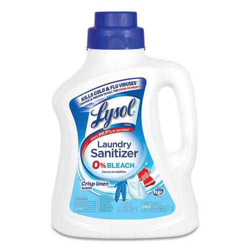LYSOL® Brand Laundry Sanitizer, Liquid, Crisp Linen, 90 oz