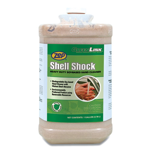 Shell Shock Heavy Duty Soy-Based Hand Cleaner, Cinnamon, 1 gal Bottle