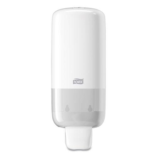 Foam Skincare Manual Dispenser, 1 L Bottle; 33 oz Bottle, 4.45 x 4.13 x 11.26, White, 4/Carton