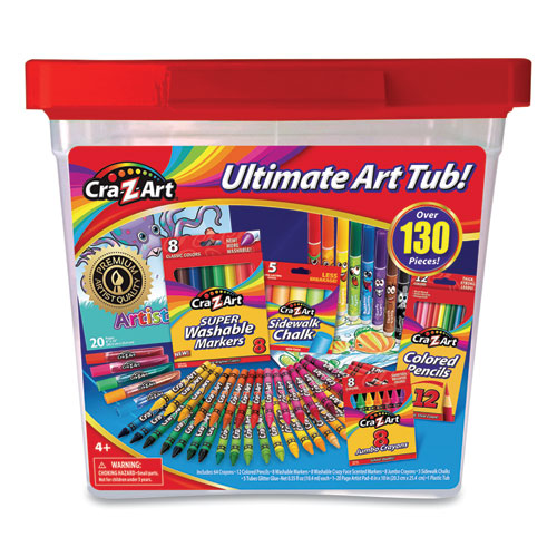 Ultimate Art Tub, 130 Pieces