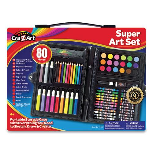 Cra-Z-Art® Super Art Set, 80 Pieces