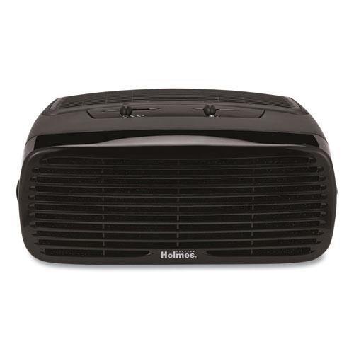Holmes® 99% HEPA Desktop Air Purifier, 109 sq ft Room Capacity, Black