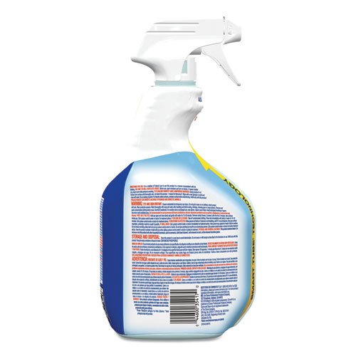 Clean-Up Disinfectant Cleaner with Bleach, 32 oz Smart Tube Spray, 9/Carton
