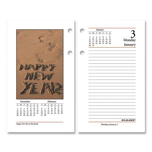 Photographic Desk Calendar Refill, 3.5 x 6, 2021