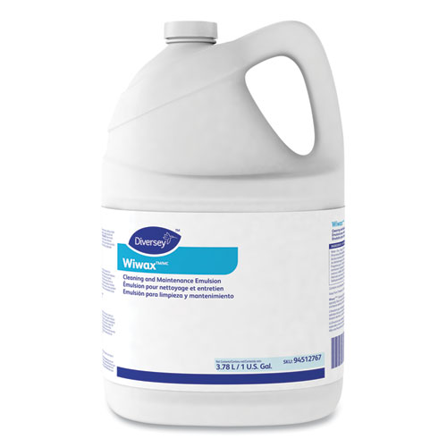 Diversey™ Wiwax Cleaning and Maintenance Solution, Liquid, 1 gal