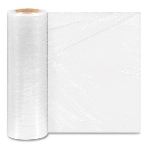 "Extended Core Cast Stretch Wrap, 16"" x 1,476 ft, 47-Gauge, Clear, 4/Carton"