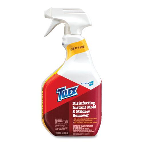 Disinfects Instant Mildew Remover, 32 oz Smart Tube Spray, 9/Carton