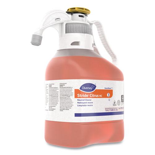 Stride Neutral Cleaner, Citrus Scent, 1.4 mL, 2 Bottles/Carton
