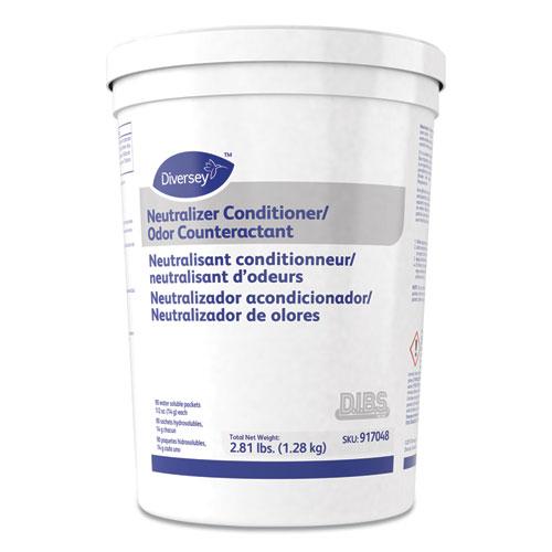 Floor Conditioner/Odor Counteractant, Powder, 1/2oz Packet, 90/Tub, 2/Carton
