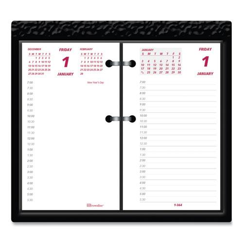 Daily Calendar Pad Refill, 6 x 3.5, 2022