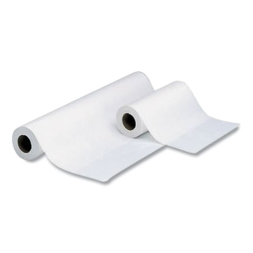 Choice Headrest Paper Roll, Smooth-Finish, 8.5 x 225 ft, White, 12/Carton