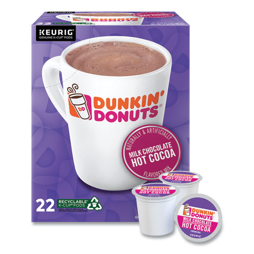 Milk Chocolate Hot Cocoa K-Cup Pods, 22/Box