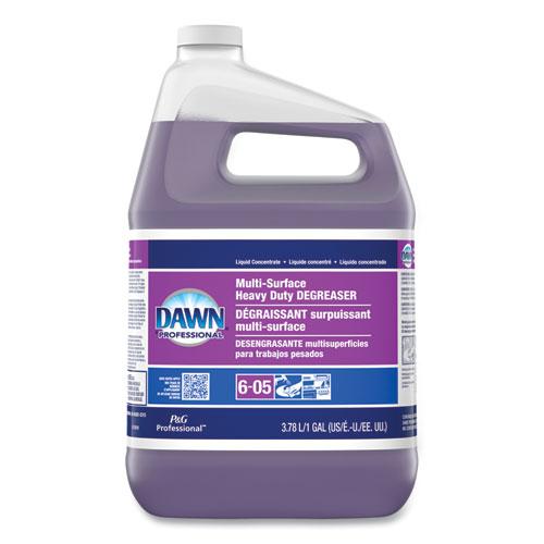 Dawn® Professional Multi-Surface Heavy Duty Degreaser, Fresh Scent, 1 gal Bottle, 4/Carton