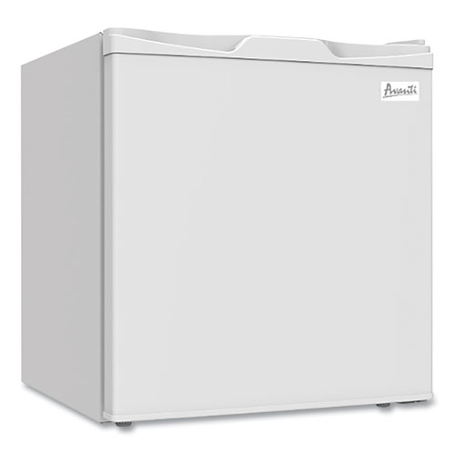 1.7 Cubic Ft. Compact Refrigerator with Chiller Compartment, White