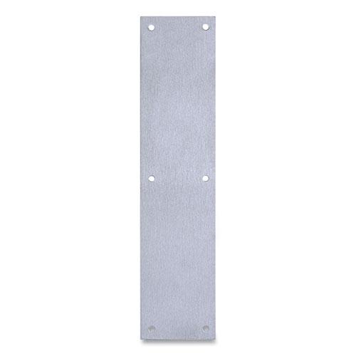 Tell® Door Push Plate, 3.5 x 15, Satin Stainless Steel