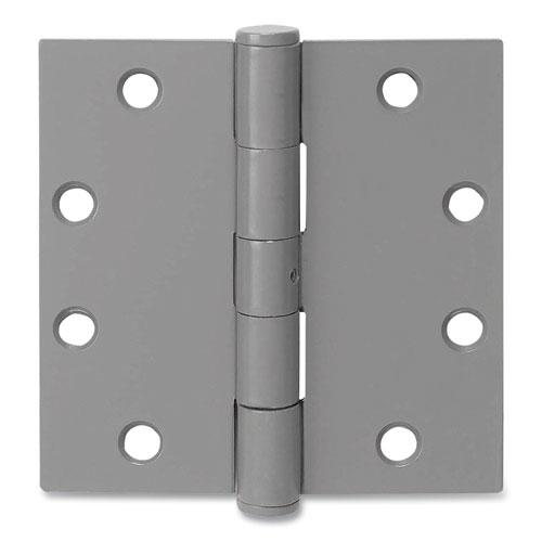 Tell® Primed Door Hinges, 4.5 x 4.5, Steel, 3/Pack