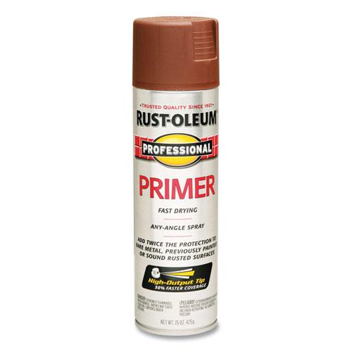 Professional Primer Spray, Flat Red, 15 oz Aerosol Can