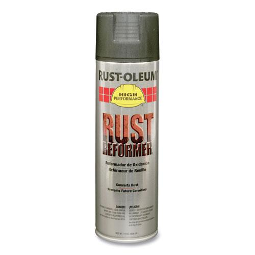 Rust Reformer High-Performance Spray, Matte Black, 15 oz Aerosol Can