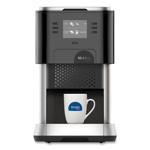 Creation 500 Single-Serve Coffee Maker, Black/Silver