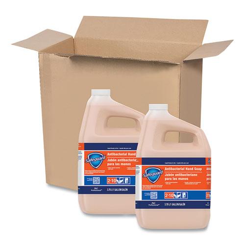 Safeguard™ Professional Antibacterial Liquid Hand Soap, Light Scent, 1 gal Bottle, 2/Carton