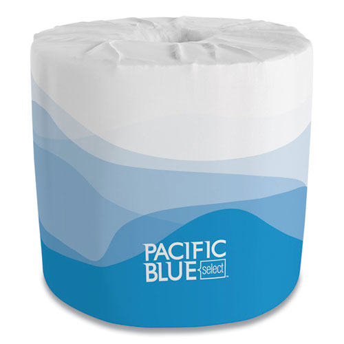 Georgia Pacific® Professional Pacific Blue Select Bathroom Tissue, Septic Safe, 2-Ply, White, 550 Sheet/Roll, 80 Rolls/Carton