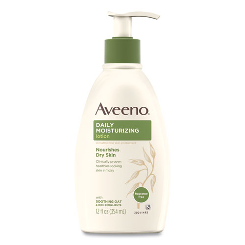 Aveeno® Active Naturals® Daily Moisturizing Lotion, 12 oz Pump Bottle