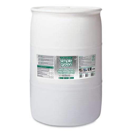 Simple Green® Crystal Industrial Cleaner/Degreaser, 55 gal Drum