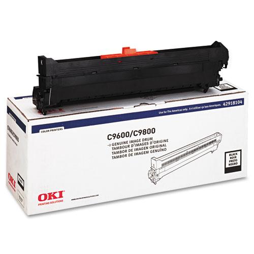 Oki® 42918104 Drum, Type C7, Black