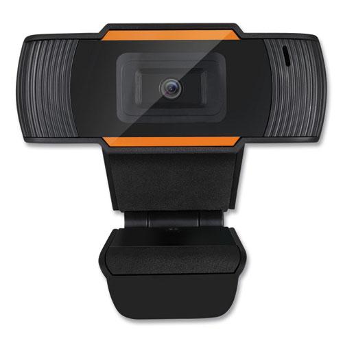 CyberTrack H2 480P Webcam with Microphone 300K, 1280 pixels x 720 pixels, 0.3 Mpixels, Black