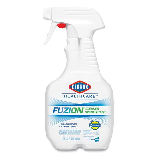 Clorox® Healthcare® Fuzion Cleaner Disinfectant, 32 oz Spray Bottle