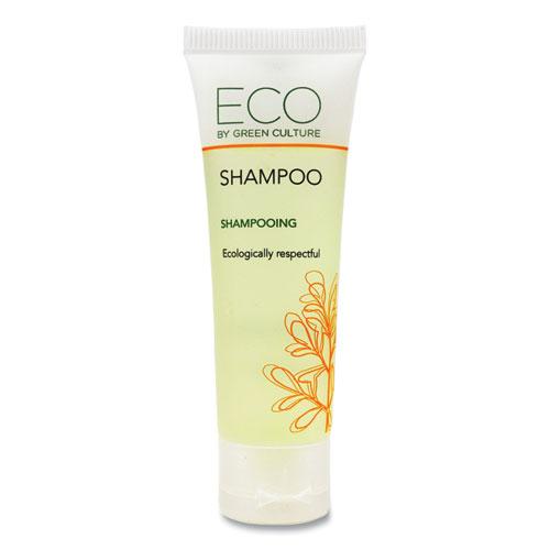 Eco By Green Culture Shampoo, Clean Scent, 30 mL, 288/Carton