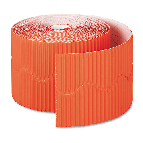 Bordette Decorative Border, 2 1/4 x 50 Roll, Orange
