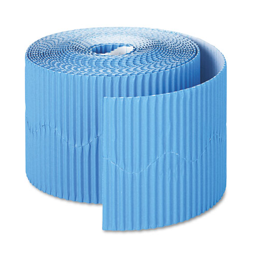 "Bordette Decorative Border, 2 1/4"" x 50' Roll, Brite Blue 
