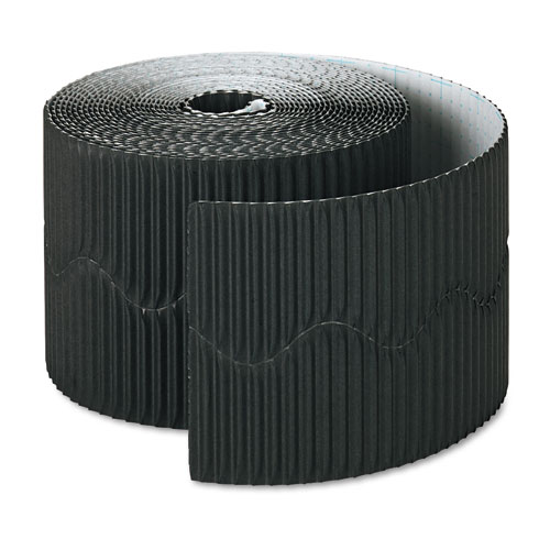 "Bordette Decorative Border, 2 1/4"" x 50' Roll, Black 