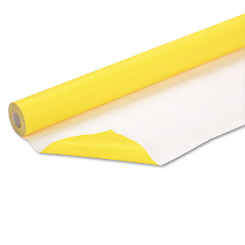 "Fadeless Paper Roll, 50lb, 48"" x 50ft, Canary 