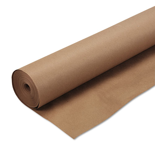 "Kraft Wrapping Paper, 16lb, 48"" x 200ft, Natural 