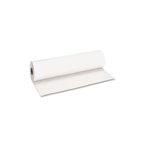 Decorol Flame Retardant Art Rolls, 40lb, 36 x 1000ft, Frost White